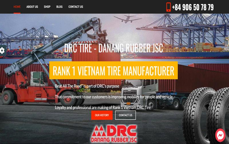 thiết kế website công ty sản xuất đà nẵng