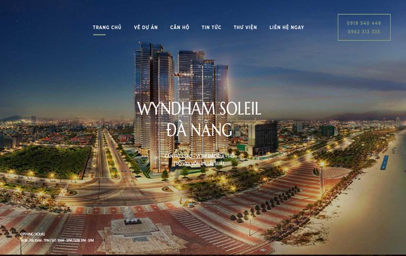 thiết kế web bất động giá rẻ đà nẵng tp hcm