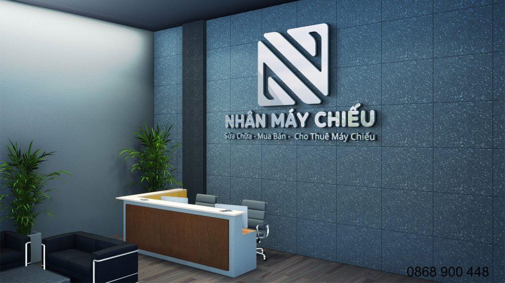 thiết kế logo cho thuê máy chiếu đà nẵng