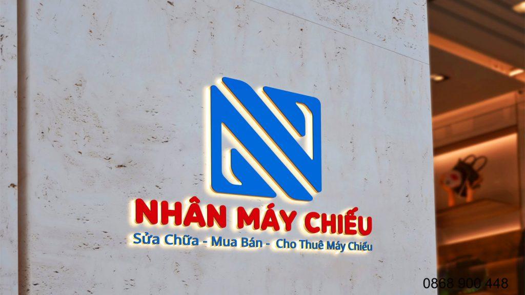 bộ nhận diện thương hiệu Nhân Máy Chiếu Đà Nẵng
