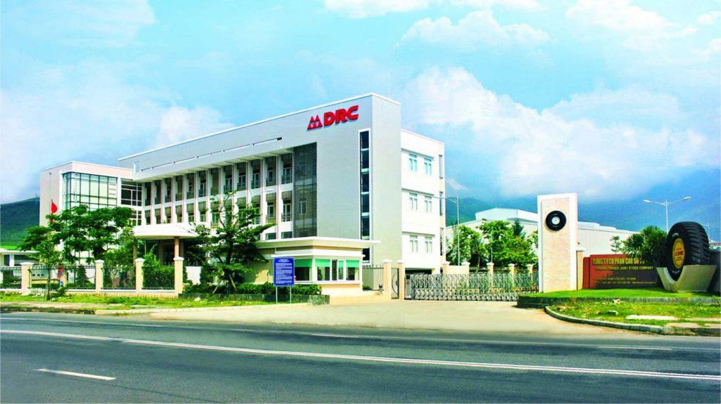 drc tire danang rubber joint stock company thiết kế logo chuyên nghiệp đà nẵng